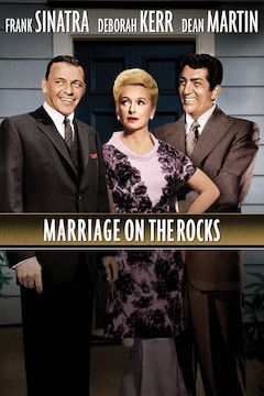 Marriage on the Rocks movie poster.