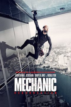 Poster for the movie Mechanic: Resurrection