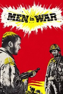 Men in War movie poster.