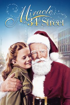 Miracle on 34th Street movie poster.