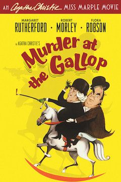 Poster for the movie Murder at the Gallop
