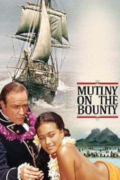 Mutiny on the Bounty movie poster.