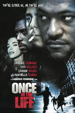 Once in the Life movie poster.
