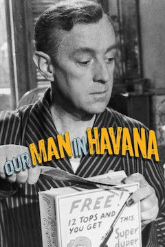 Our Man in Havana movie poster.