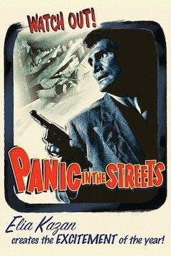 Panic in the Streets movie poster.