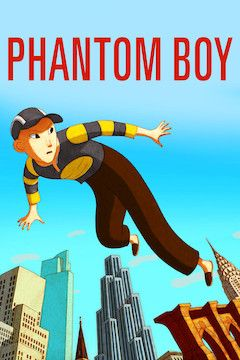 Phantom Boy movie poster.