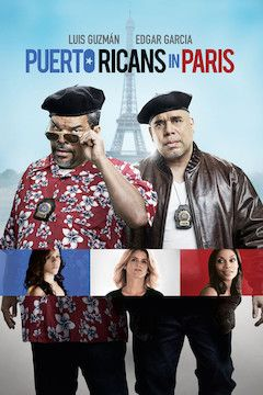 Puerto Ricans in Paris movie poster.