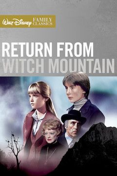 Return From Witch Mountain movie poster.