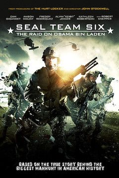 Seal Team Six: The Raid on Osama bin Laden movie poster.