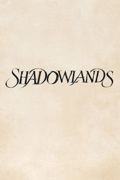 Shadowlands movie poster.