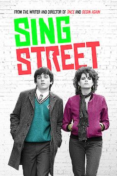 Sing Street movie poster.