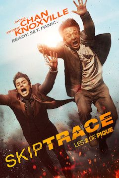 Skiptrace movie poster.