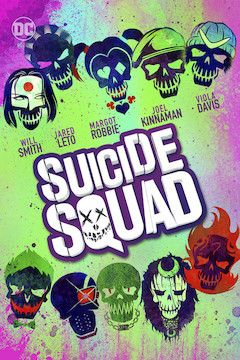 Suicide Squad movie poster.