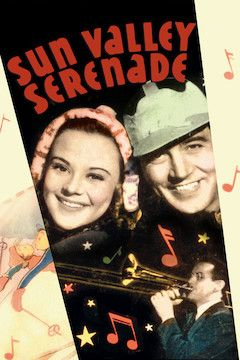 Sun Valley Serenade movie poster.