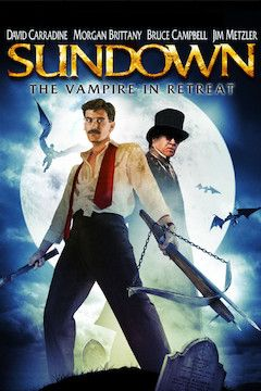 Sundown: The Vampire in Retreat movie poster.