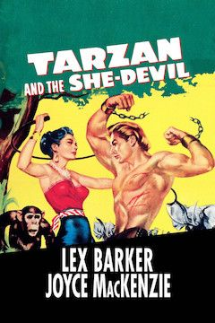 Tarzan and the She-Devil movie poster.
