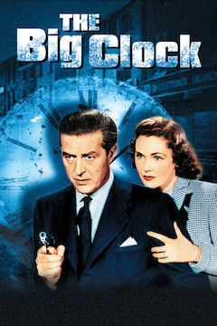 The Big Clock movie poster.