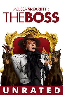 The Boss movie poster.