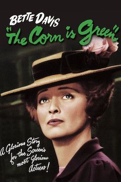 The Corn Is Green movie poster.