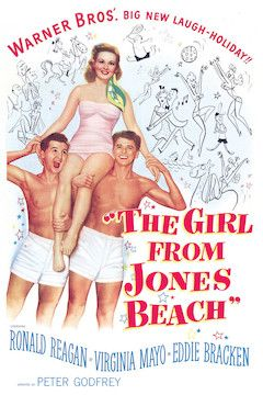 The Girl From Jones Beach movie poster.