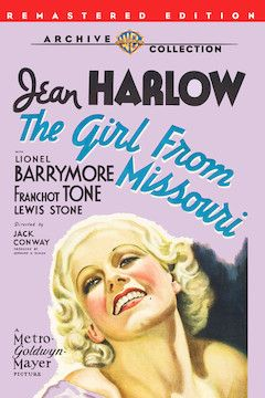 The Girl From Missouri movie poster.