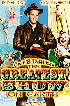 The Greatest Show on Earth movie poster.
