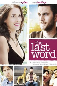 The Last Word movie poster.