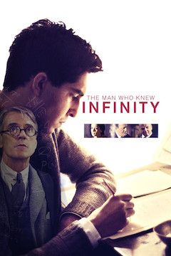 The Man Who Knew Infinity movie poster.