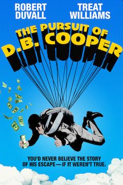 Poster for the movie The Pursuit of D.B. Cooper