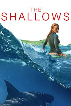 Poster for the movie The Shallows