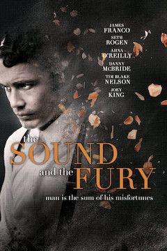 Poster for the movie The Sound and the Fury