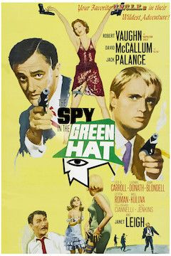 The Spy In the Green Hat movie poster.