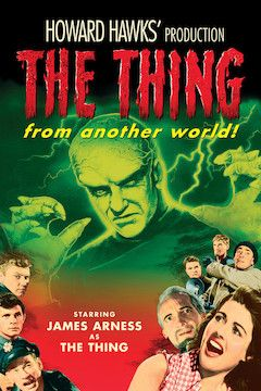 The Thing From Another World movie poster.