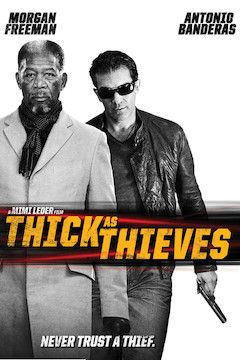 Poster for the movie Thick as Thieves