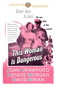 This Woman is Dangerous movie poster.