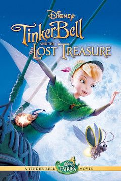 Tinker Bell and the Lost Treasure movie poster.