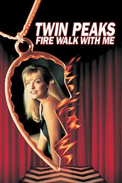 Twin Peaks: Fire Walk With Me movie poster.