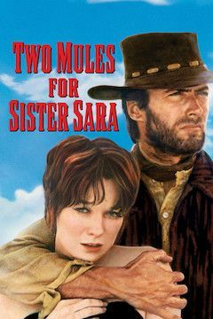 Two Mules for Sister Sara movie poster.