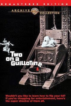 Two on a Guillotine movie poster.