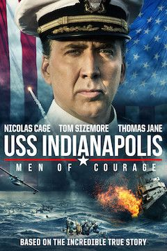 USS Indianapolis: Men of Courage movie poster.