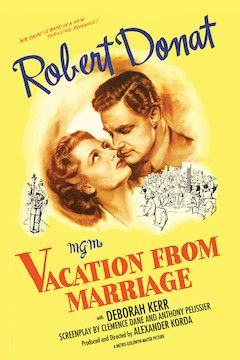 Poster for the movie Vacation From Marriage