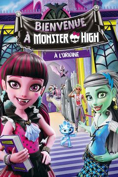 Welcome to Monster High movie poster.