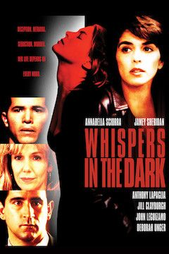 Whispers in the Dark movie poster.