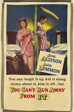 Poster for the movie You Can't Run Away From It