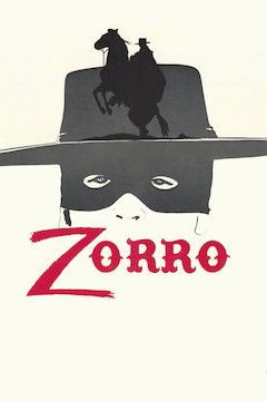 Zorro movie poster.