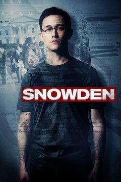 Snowden movie poster.