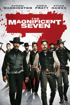The Magnificent Seven movie poster.