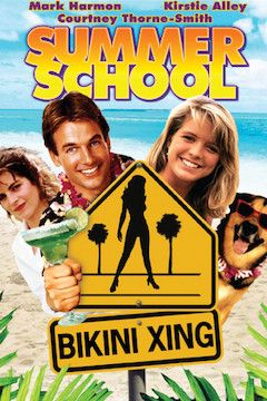Summer School movie poster.