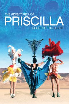 The Adventures of Priscilla, Queen of the Desert movie poster.
