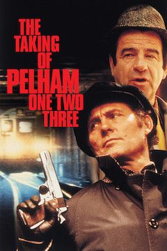 Poster for the movie The Taking of Pelham One, Two, Three